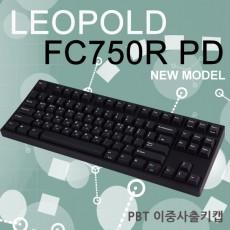 레오폴드 FC750R PD 블랙 한글 저소음적축
