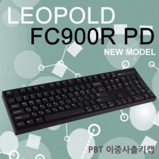 레오폴드 FC900R PD 블랙 한글 저소음적축