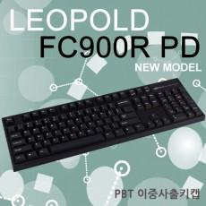 레오폴드 FC900R PD 블랙 영문 저소음적축