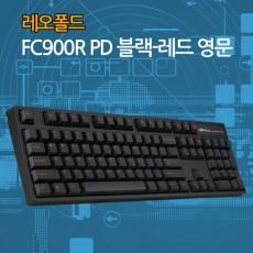 레오폴드 FC900R PD 블랙-레드 영문 리니어흑축(미입고)