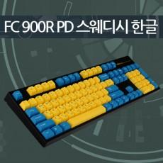 레오폴드 FC900R PD 스웨디시 블랙 한글 리니어흑축 - 미입고