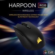 커세어 HARPOON RGB WIRELESS 게이밍마우스