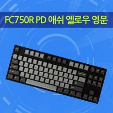 FC750R PD 애쉬 옐로우 영문 리니어흑축