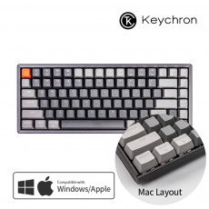 Keychron K2 RGB 다크그레이 알루미늄 블루투스(84키) 한글