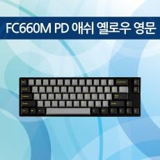 FC660M PD 애쉬 옐로우 영문 레드(적축)