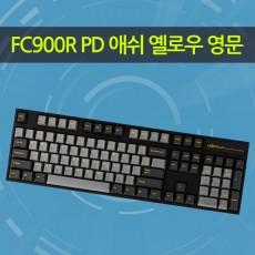 FC900R PD 애쉬 옐로우 영문 리니어흑축